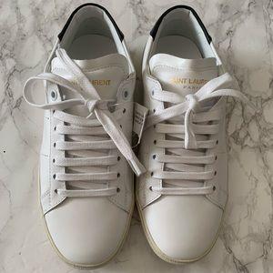 Saint Laurent Classic Court Sneakers-  Size 35